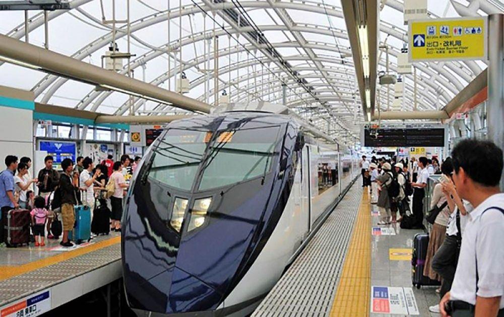 Hệ thống giao thông công cộng hiện đại của Nhật Bản. Ảnh Japan.net.vn