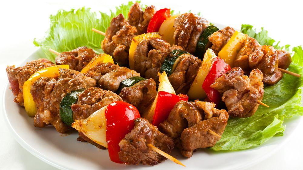 Kết quả hình ảnh cho Thịt nướng Shashlik nga