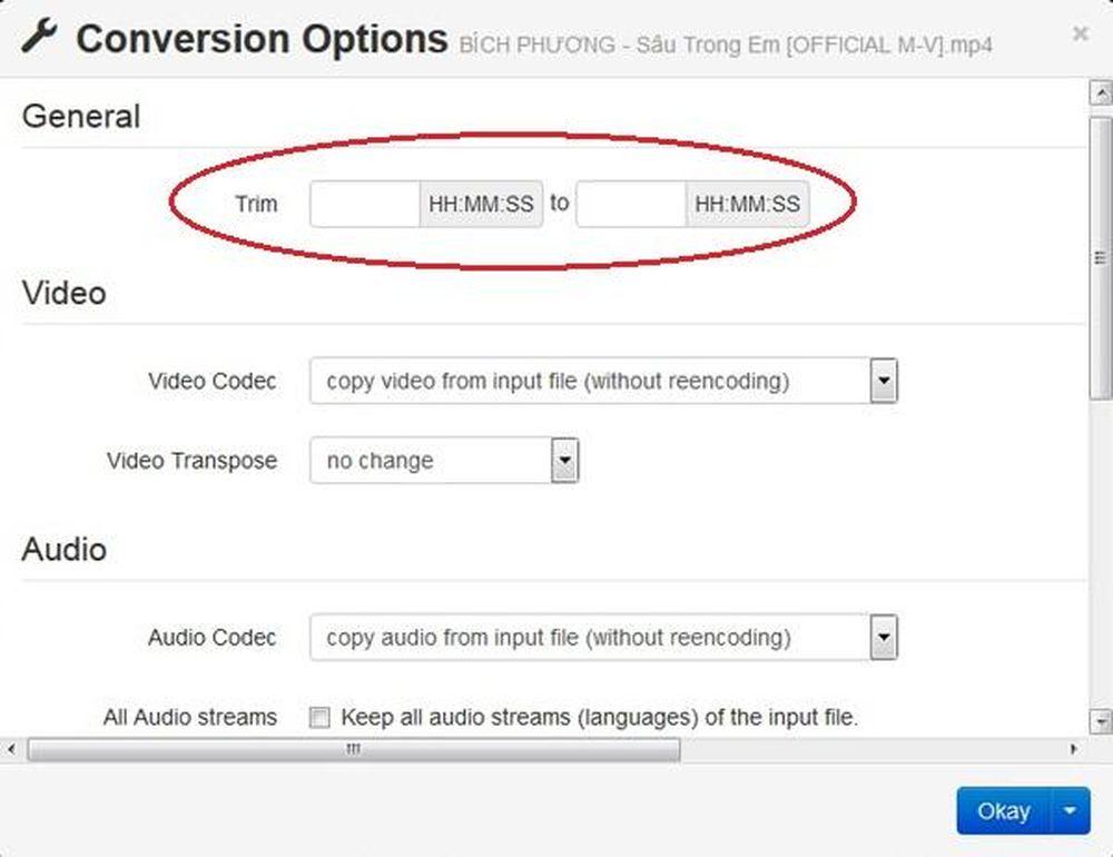 Hướng dẫn cách đổi đuôi video sang MP3, sang AVI    online - ICTNews