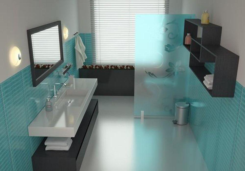 Kết quả hình ảnh cho Phụ kiện kim loại màu bạc trong phòng tắm.