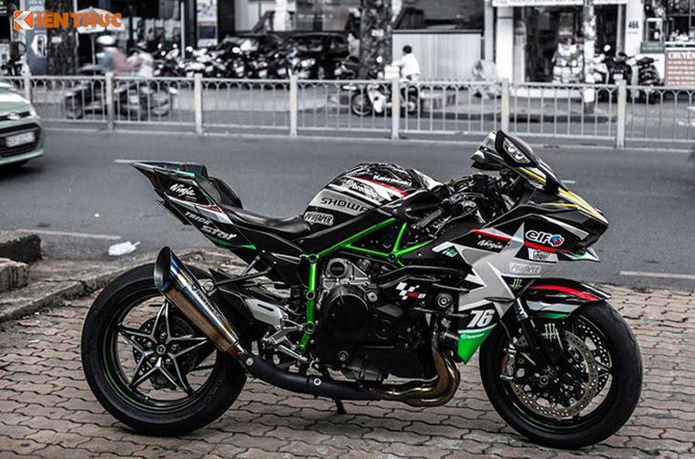 Siêu Môtô Kawasaki H2 Giá Hơn 1 Tỷ độ Khủng Tại Sài Gòn Báo Kiến Thức