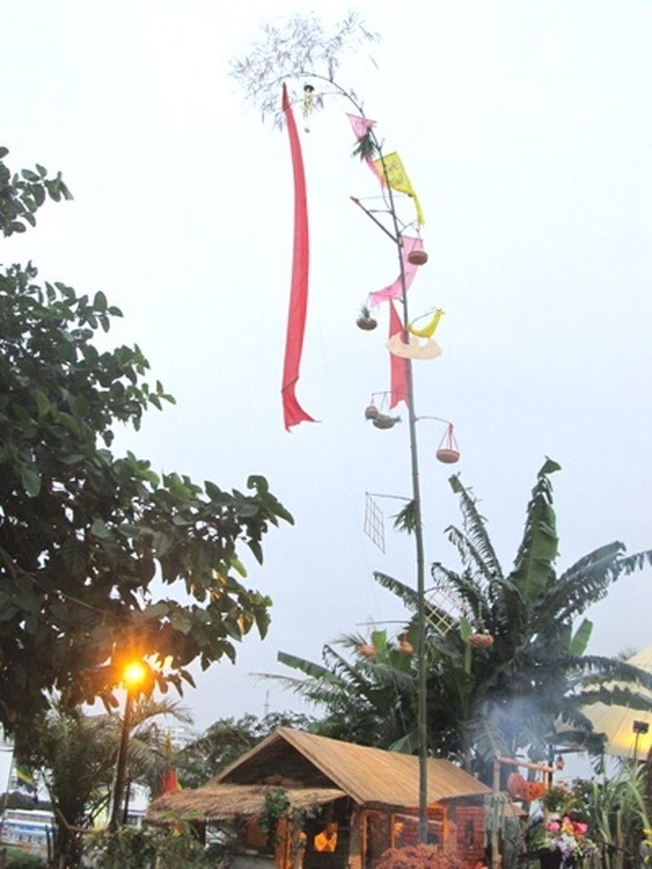 Image result for Ý nghĩa cây nêu ngày Tết trong phong tục tín ngưỡng của người Việt