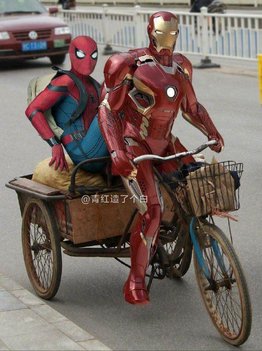 ảnh chế hài hước các siêu anh hùng