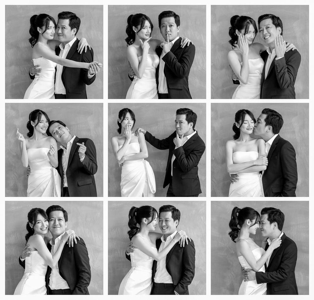 Thay vì chọn những địa điểm ngoại cảnh nổi tiếng, cặp đôi lại thực hiện bộ ảnh cưới của mình trong studio nhưng vẫn rất đẹp mắt. Ngoài những hình ảnh lãng ...