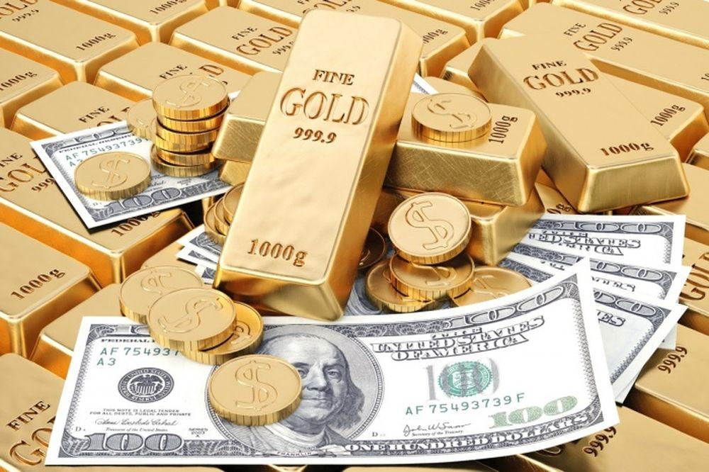 Giá vàng hôm nay 12/10: Đồng USD sập sàn, giá vàng tăng siêu tốc gần 30 USD /Ounce