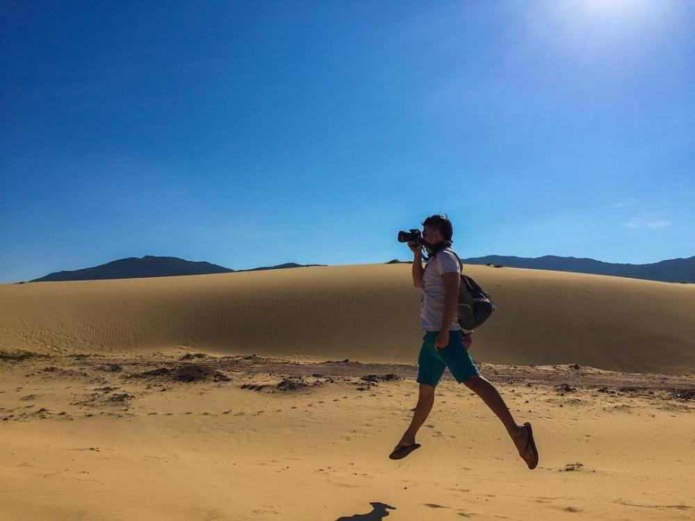 Kết quả hình ảnh cho đồi cát nhơn hội