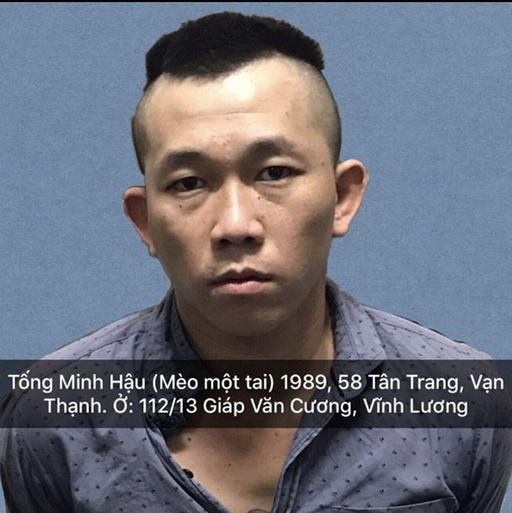 Ngày 17-11, Cơ quan CSĐT Công an TP Nha Trang (Khánh Hòa) ra lệnh tạm giữ hình sự đối với Tống Minh Hậu (biệt danh Mèo một tai, 29 tuổi, ...
