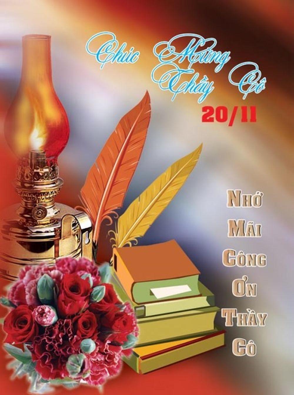 Ảnh chúc mừng ngày Nhà giáo Việt Nam 20/11.