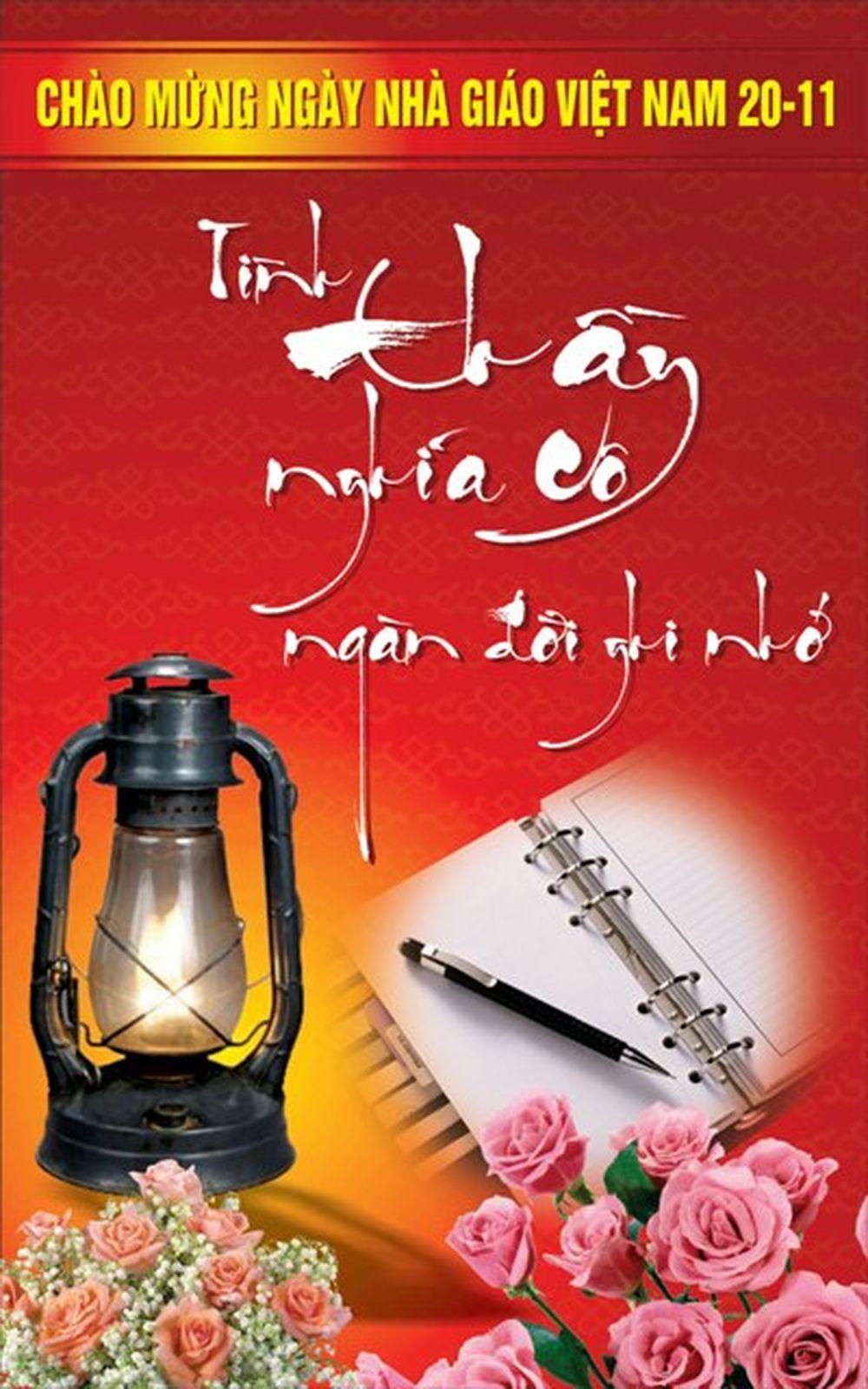 Thiệp đẹp ngày Nhà giáo Việt Nam 20/11.