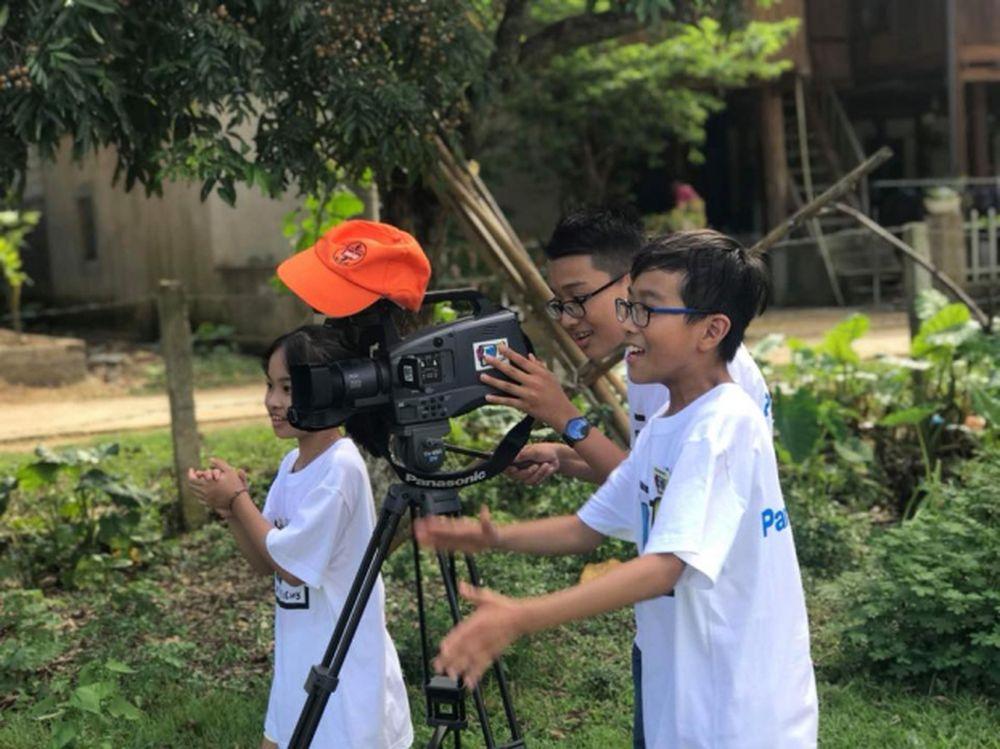Thông qua KWN 2018, các bạn nhỏ trên địa bàn Hà Nội có cơ hội tiếp cận với  bộ môn nghệ thuật thứ 7 đầy hấp dẫn và nhiều trải nghiệm khó quên