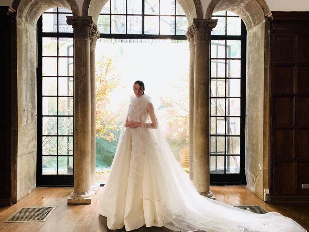 Image result for Hình ảnh BST PHUONG MY Bridal tại tuần lễ thời trang cưới New York Fashion Week Bridal