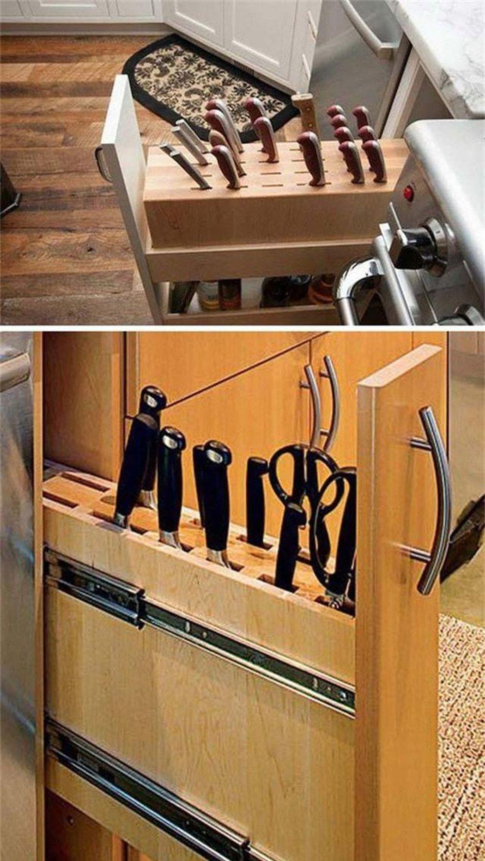 14 cách thông minh để dễ dàng sắp xếp tủ bếp gọn gàng, đẹp mắt ...