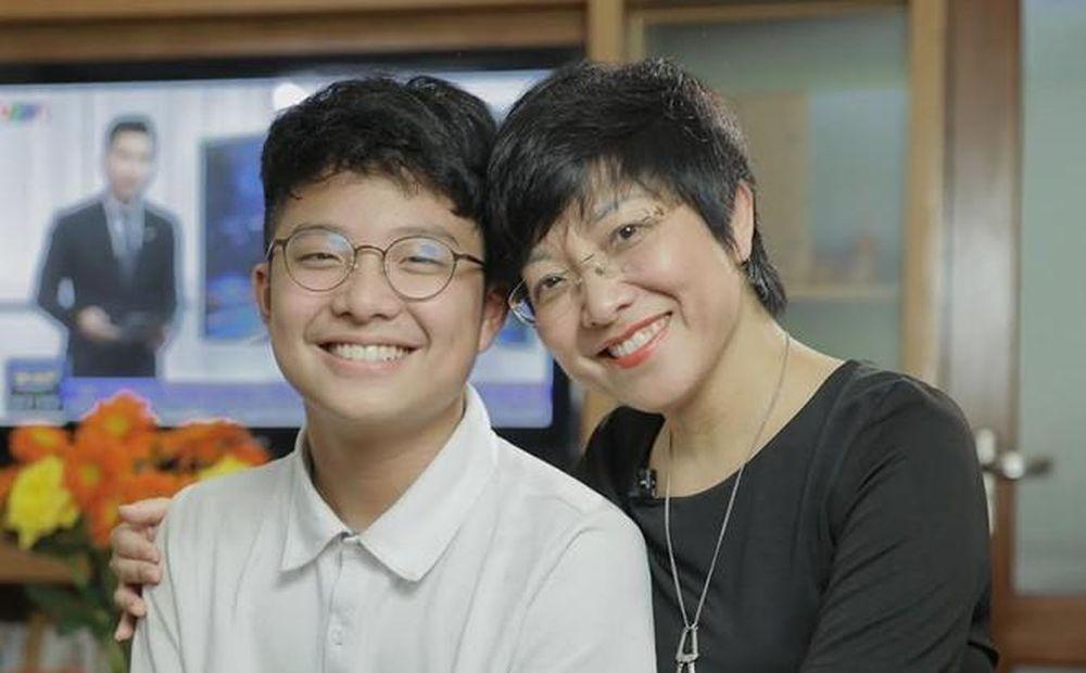 Xúc động lá thư của MC Thảo Vân gửi cho con trai NSND Công Lý nhân ...