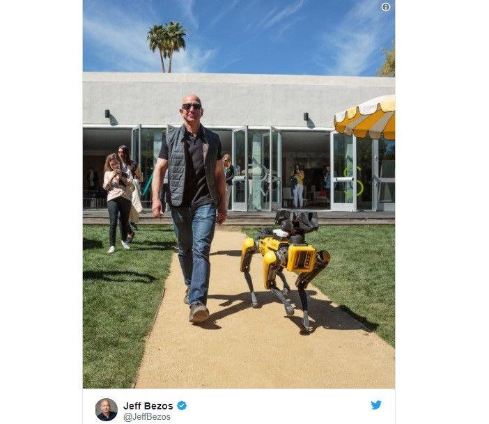 Hình ảnh được Jeff Bezos đăng tải trên tài khoản Twitter cá nhân - Ảnh: Twitter