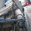 Hiểm họa 'mạng nhện' dây điện tại TP.HCM