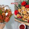 Bật cười với những bó hoa 20/10 đậm đà 'hương vị' dành cho những tín đồ ăn uống