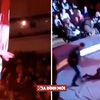 Nghệ sĩ nhào lộn tuột tay rơi xuống từ độ cao gần 5 m khiến khán giả 'đứng tim'