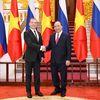 Chùm ảnh: Thủ tướng Nguyễn Xuân Phúc đón Thủ tướng Nga