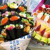 Quà tặng 20/11: Phụ huynh chi gần chục triệu mua hoa sushi tặng cô giáo