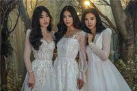 Top 3 hoa hậu Tiểu Vy - Phương Nga - Thúy An đẹp tựa tiên nữ giáng trần trong những thiết kế váy cưới của NTK Chung Thanh Phong