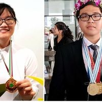 Bảng thành tích đáng nể của 2 học sinh vừa được tặng Huân chương Lao động