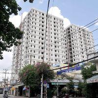 Tháo dỡ phần xây dựng sai phép của chung cư Khang Gia Tân Hương