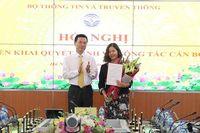 Bà Trần Thị Nhị Thủy được bổ nhiệm giữ chức Phó chánh thanh tra Bộ TT&TT