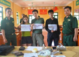 BĐBP Hà Tĩnh: Triệt phá đường dây ma túy liên tỉnh