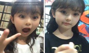 'Tiểu mỹ nhân' 8 tuổi nổi tiếng với clip 15 giây đáng yêu