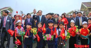 Nhớ những hình ảnh thân tình, ấm áp của Chủ tịch nước Trần Đại Quang với đồng bào các dân tộc