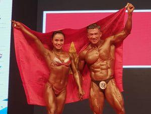 Thể hình Đồng Nai giành 1 HCB, 2 HCĐ Giải vô địch châu Á
