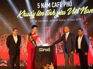 Hoa hậu H'Hen Niê trở thành đại sứ của chiến dịch Café Phố