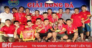 FC K54 Vô địch Giải Bóng đá lão tướng TP Hà Tĩnh