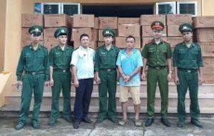 Bắt giữ hơn 2.500 kg pháo nổ vận chuyển trái phép vào Việt Nam