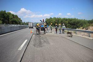 Hoàn thành sửa chữa mặt đường cao tốc Đà Nẵng-Quảng Ngãi