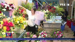 Đắt hàng hoa online ngày 20/10