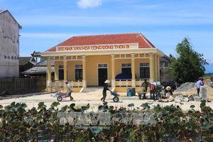 Hỗ trợ xi măng cho chương trình nông thôn mới
