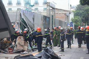 Hà Nội: Sập nhà sát phố đi bộ Hồ Gươm