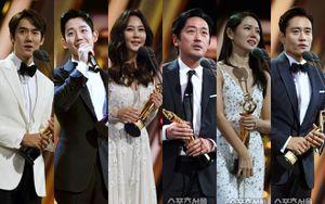 Kết quả 'The Seoul Awards 2018': 'Thử thách thần chết' gom hết giải, Son Ye Jin - Jung Hae In ôm nhau trên sân khấu