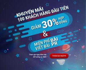 Khuyến mại khủng lên đến 30% cho một chiến dịch Quảng cáo TRUECLICK