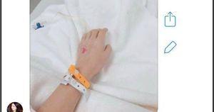 Hòa Minzy đăng ảnh phải nhập viện gấp để phẫu thuật dạ dày