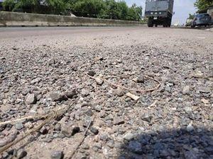 Sửa xong đường hỏng, trạm BOT Bắc Bình Định được thu phí trở lại