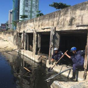 Hàng loạt doanh nghiệp xả thải ra môi trường biển TP.Đà Nẵng