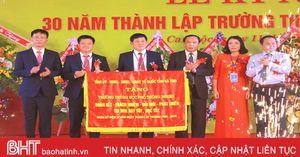 Trường THPT Nghèn kỷ niệm 30 năm thành lập