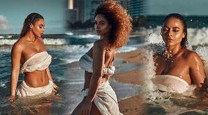 Đường cong 'bỏng rẫy' của nàng mẫu 9x Crystal Westbrooks