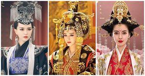 Những kiểu tóc tạo hình cổ trang phức tạp khiến các mỹ nhân Hoa ngữ hoảng sợ