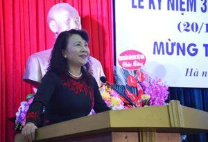 Hội Cựu giáo chức Cơ quan Bộ GD&ĐT kỷ niệm ngày Nhà giáo Việt Nam