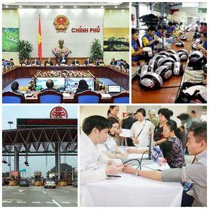 Chỉ đạo, điều hành của Chính phủ, Thủ tướng Chính phủ nổi bật tuần từ 10-16/11