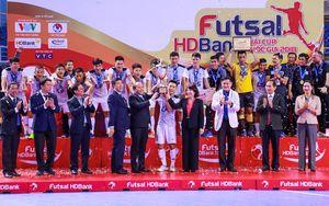 Giải Futsal HDBank Cúp Quốc gia 2018 khép lại thành công rực rỡ