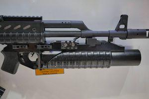 Chiêm ngưỡng súng phóng lựu kẹp nòng độc đáo Việt Nam tự chế tạo